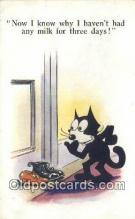 flx000205 - Series 4920 Felix the Cat Postcard Post Card