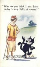 flx000210 - Series 471 Felix the Cat Postcard Post Card