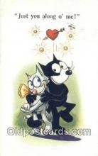 flx000216 - Series 5152 Felix the Cat Postcard Post Card