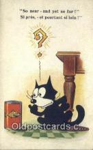 flx000226 - Series 5025 Felix the Cat Postcard Post Card