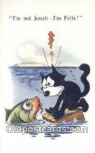 flx000228 - Series 5021 Felix the Cat Postcard Post Card