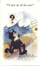 flx000241 - Series 4928 Felix the Cat Postcard Post Card