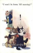 flx000262 - Series 453 Felix the Cat Postcard Post Card