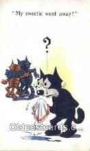 flx000263 - Series 455 Felix the Cat Postcard Post Card