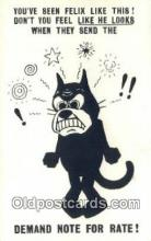 flx000276 - Bamforth & Co Publishing Felix the Cat Postcard Post Card