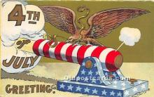 foj000022 - July 4th Independence Day Post Card