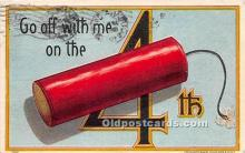 foj000025 - July 4th Independence Day Post Card
