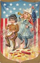 foj000072 - July 4th Independence Day Post Card