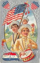 foj000074 - July 4th Independence Day Post Card