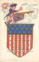 foj000080 - July 4th Independence Day Post Card