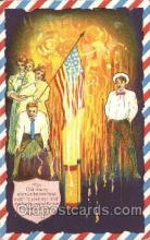 foj001104 - Forth of July 4th Postcard Post Card