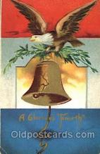 foj001111 - Forth of July 4th Postcard Post Card