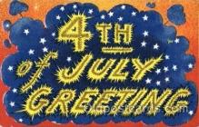 foj001113 - Forth of July 4th Postcard Post Card