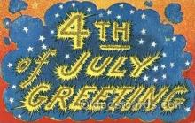foj001115 - Forth of July 4th Postcard Post Card