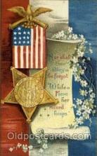 foj001145 - Artist Signed Ellen Clapsaddle, Memorial Day, Post Card Post Card