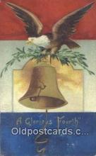 foj001206 - 4th, Fourth of July Postcard Post Card Old Vintage Antique