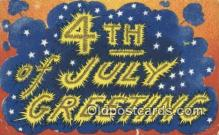 foj001213 - 4th, Fourth of July Postcard Post Card Old Vintage Antique