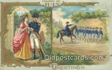 foj001219 - Fourth, 4th of July Postcard Post Card Old Vintage Antique