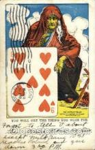 for001002 - Fortunes, Fortune Telling Postcard Post Card
