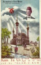 fra001015 - Jerusalem's New Home, Fraternal Postcard Post Card