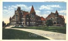 fra001019 - K. of P. Springfield, Ohio, USA  Fraternal, Postcard Post Card