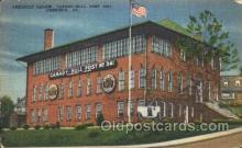 fra100001 - Ambridge, Pa, USA American Legion, Candy-Hull Post #341 Fraternal Postcard Post Card