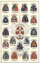 fra150002 - University of Cambridge, Coat of Arms Fraternal, Fraternity, Postcard, Post Card