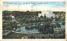 fra400017 - Jacksonville, Florida, USA Mason, Mason's Fraternal Organization, Postcard Post Card