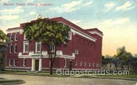 fra400033 - Winona, Minnesota USA Mason, Mason's Fraternal Organization, Postcard Post Card