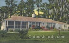 fra500004 - Moosehaven, Florida, USA , Old Dominion Building, Sponsored by the Moose Lodges of  Virginia, Fraternal Moose Club, Postcard Post Card