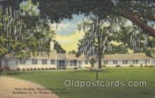 fra500011 - Hope Building, Moosehaven, Florida, Sponcered by the Woman of the Moose USA Fraternal Moose Club, Postcard Post Card
