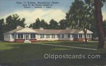 fra500015 - Moosehaven, Florida, USA Fraternal Moose Club, Postcard Post Card