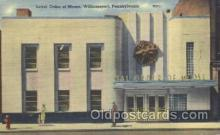fra500016 - Williamsport, Pennsylvania, USA Fraternal Moose Club, Postcard Post Card