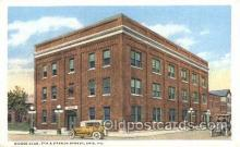 fra500017 - Moose Club Erie, Pa, USA Fraternal Moose Club, Postcard Post Card