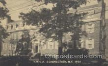 fra800008 - Y.W.C.A.Schenectady, New York, N.Y. 1931, USA YWCA Fraternal Postcard Post Card