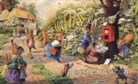 frg117 - Frog Postcard Post Card