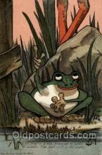 frg142 - Frog Postcard Post Card
