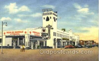 gas001002 - Gas Station, Stations Postcard Post Card