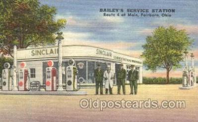 gas001014 - Gas Station, Stations Postcard Post Card