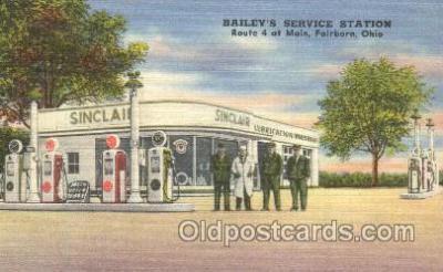 Baileys Service Station, Fairborn, OH, USA