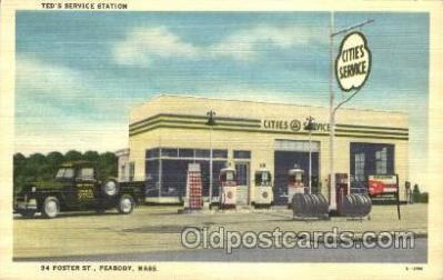 gas001016 - Gas Station, Stations Postcard Post Card