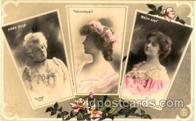 gla000029 - Glamour Woman Postcard Post Card