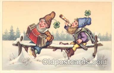 gns001003 - Gnomes Postcard Post Card
