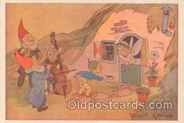 gns001004 - Gnomes Postcard Post Card