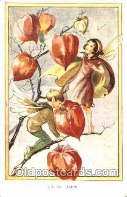 gns001050 - Artist Rene Cloke, Gnomes, Elves, Postcard Post Card