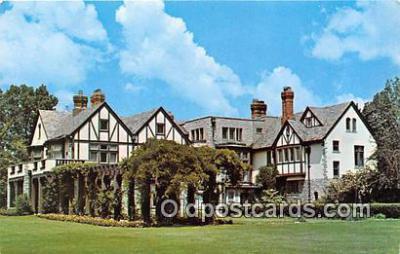 gom001017 - Ohio's Governor, Tudor-Norman Bexley, Ohio, USA Postcards Post Cards Old Vintage Antique