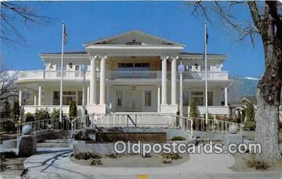 gom001018 - Governor's Mansion Carson City, Nevada, USA Postcards Post Cards Old Vintage Antique