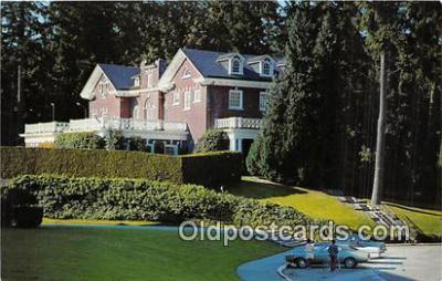 gom001026 - Governor's Mansion Olympia, Washington, USA Postcards Post Cards Old Vintage Antique