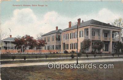 gom001054 - Governor's Mansion Baton Rouge, LA, USA Postcards Post Cards Old Vintage Antique