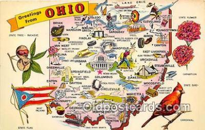 gre000009 - Ohio, USA Postcards Post Cards Old Vintage Antique